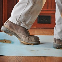 Floor protection for painting