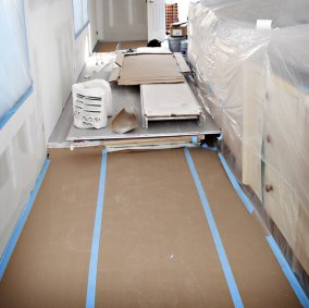 X-Paper Flooring Protection Image 1