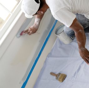 All Purpose Dyed Canvas Dropcloth Image 1