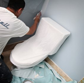 Polypropylene Protective Toilet Cover Image 1