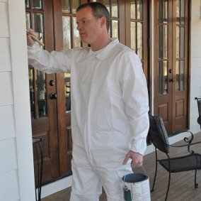SuperTuff™ Polypropylene Painter's Coveralls Image 1