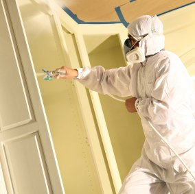 SuperTuff® Breathable Painter Spray Suits Image 1