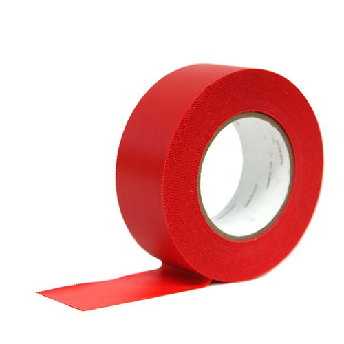 7 mil Red Polyethylene Surface Protection Seam Tape Image 1