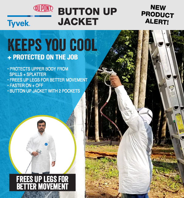 NEW Tyvek Jacket
